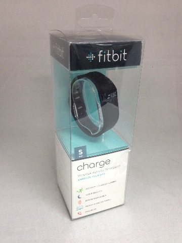 Fitbit Charge Wireless Activity Wristband, Black, Small (SEALED)