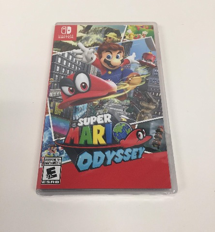 Super Mario Odyssey for Nintendo Switch (SEALED)