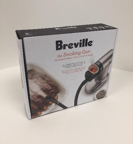 Breville BSM600SIL The Smoking Gun, Silver