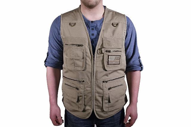 Bluestone Safety Products C567-005 Concealment Vest, Tan, XX-Large