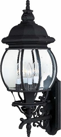 Maxim Lighting 1037BK 4 Light Crown Hill Outdoor Sconce