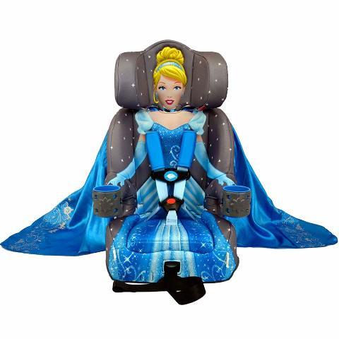 Kidsembrace Combination Toddler Harness Booster Car Seat, Cinderella Platinum