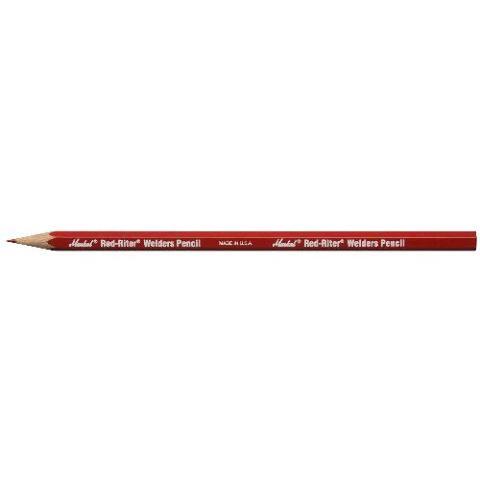 Markal 96100 Red Riter Welders Pencil (Pack of 12)