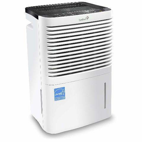 Ivation 70 Pint Dehumidifier with Built-In Pump