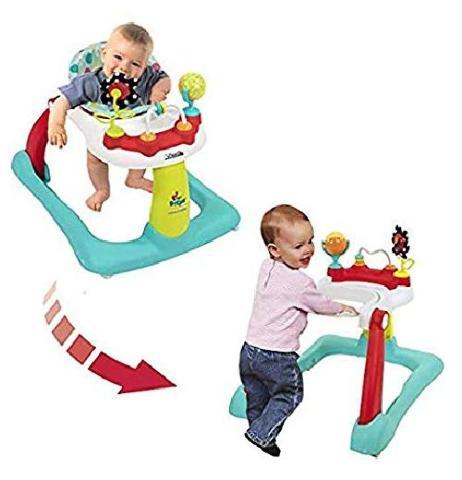 Kolcraft Tiny Steps 2-In-1 Activity Walker, Jubilee
