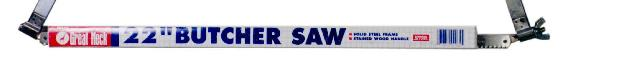 Great Neck BUS22 22 Inch Butcher Saw blade