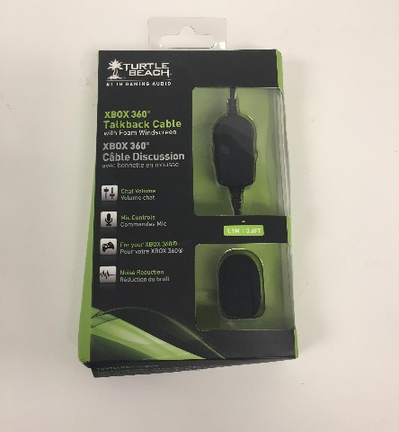 Turtle Beach Talkback Cable for Xbox 360