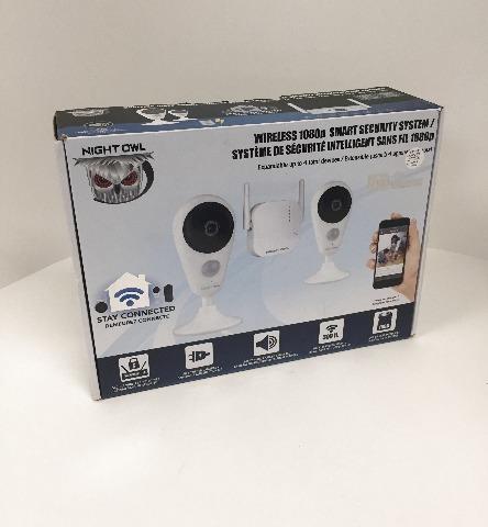 Night Owl WG4-2I-16SD 4 Channel 1080p HD Wireless Smart Security Hub