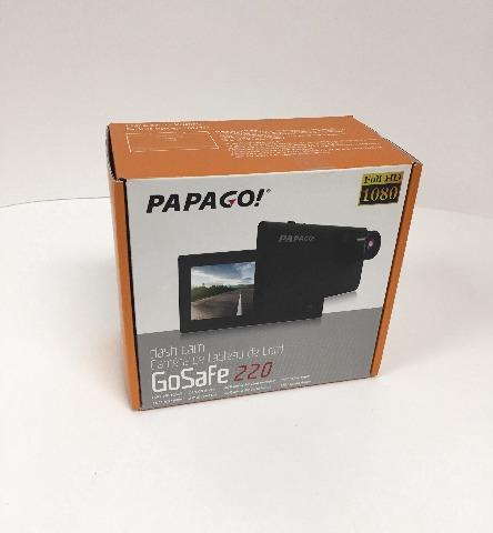 Papago Gs2208grg Gosafe 220 1080p Full Hd Dash Camera - Black (SEALED)