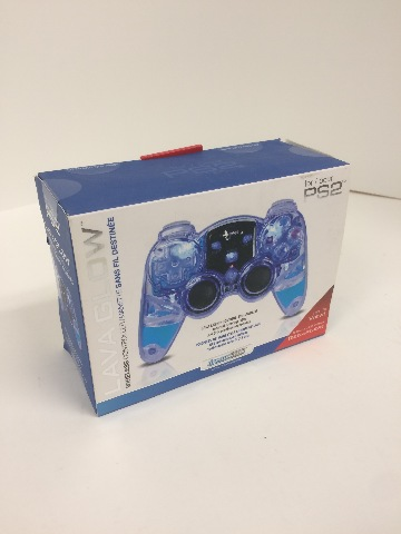 Lava Glow Wireless Controller - PlayStation 2