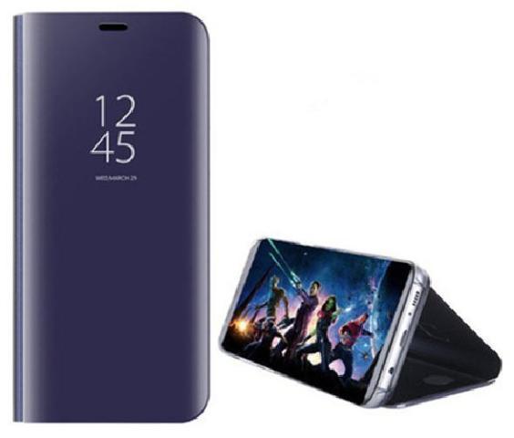 Huawei Honor 8X max Flip Case (Purple)