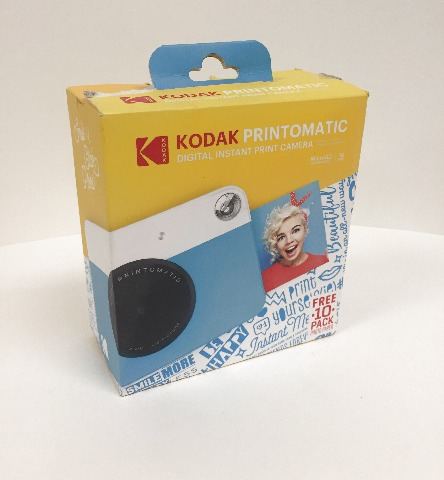 Kodak Printomatic Instant Camera Blue/white