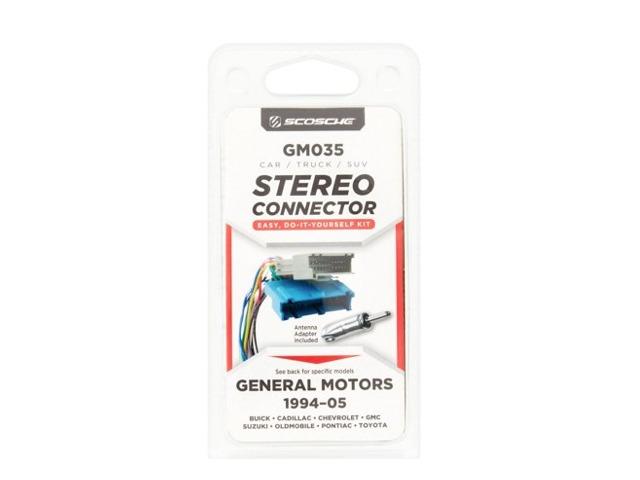 Gm035f Scosche General Motors 1994-05 Auto Stereo Wire Harness - Qty 1