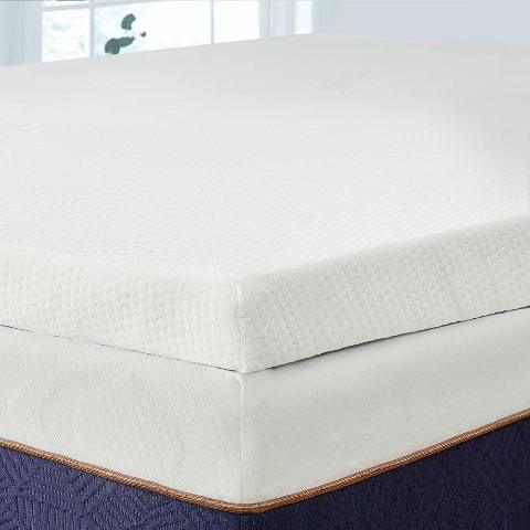 Bedstory 2 Inch Memory Foam Mattress Topper, Lavender Infused T- Queen Size