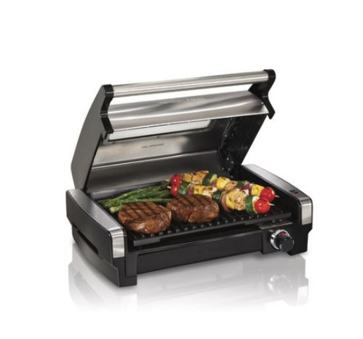 Hamilton Beach Searing Grill with Lid Viewing Window