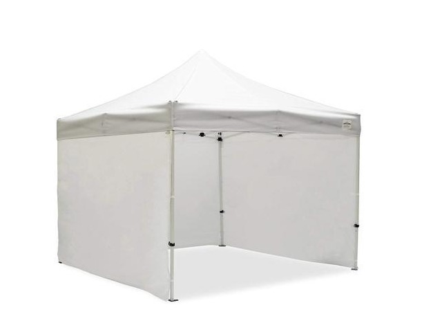 Caravan Canopy 10ft. W x 10ft. D Commercial Grade Sidewalls Canopy