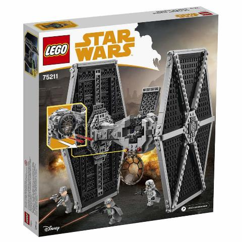 Lego 75211 Star Wars - Imperial Tie Fighter, 519 Pcs