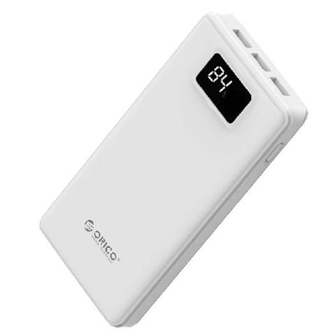 ORICO 20000mAh Portable External Battery Power Bank 5V2.4A with Smart LCD Digital Display for Smartphones