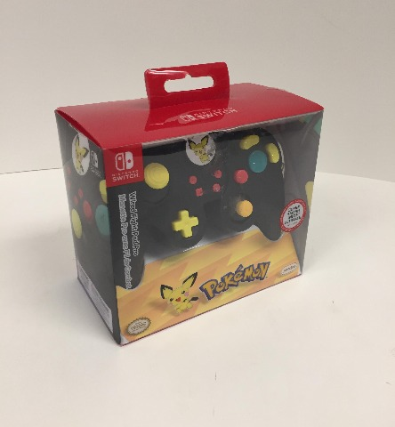 PDP, Wired Fight Pad Pro, Nintendo Switch, Pichu, 500-100-NA-D11