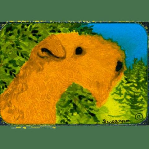 Caroline's Treasures Lakeland Terrier Kitchen/Bath Mat