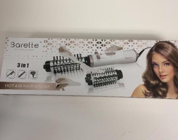 Barette Hair Dryer Brush Hot Air Brush One Step Hair Dryer Volumizer 3-In-1