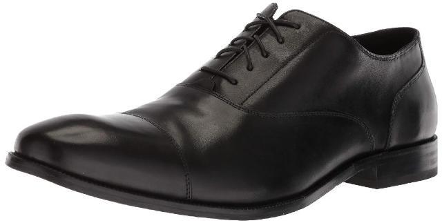 Cole Haan Men's Williams Cap Toe Oxford, Black, 9.5 M Us