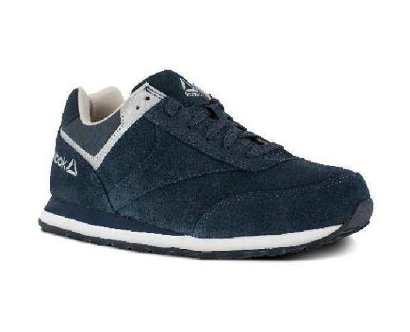Reebok Women's Leelap RB195 Work Shoe,Blue Oxford,6 W US