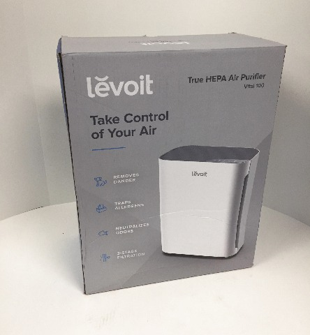 Levoit Air Purifier For Home With True Hepa Filter, Air Cleaner 300 Sq. Ft,