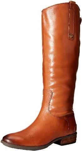 Women's Sam Edelman Penny Boot, Size 8.5 Regular Calf W - Brown
