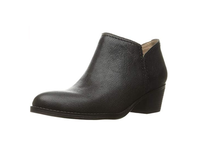 Naturalizer Zarie Casual Ankle Boots, Black, 5.5