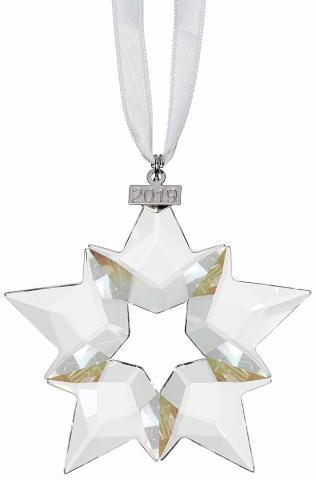 Swarovski Annual Edition 2019, Large Christmas Ornament, Clear