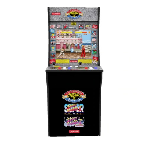 Street Fighter 2 Arcade Machine, Arcade1UP, 4ft