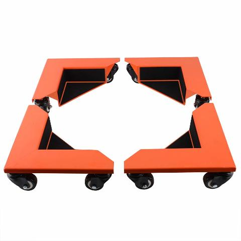 Spacekeeper Corner Mover Dolly Roller With 1420 Lb Load Capacity (Set Of 4)