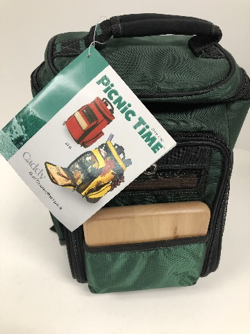 Picnic Time Caddy - Golf Cooler / Backpack Service For 2 Green