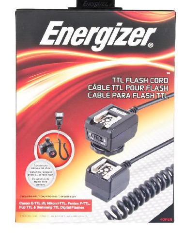 Energizer Multi-Fit - Flash synchro cable - 6 ft