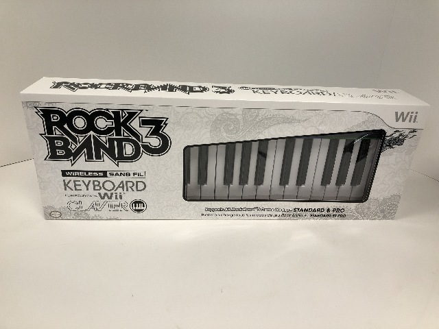 Mad Catz Rock Band 3 Wireless Musical Keyboard for Nintendo Wii or MIDI