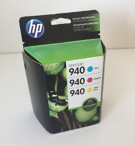 HP - 940 Combo Pack Standard Capacity - Color Ink Cartridge Cyan/Magenta/Yellow