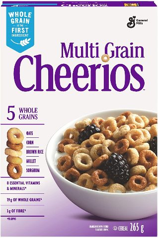 Cheerios Multi-Grain Cereal - 265g