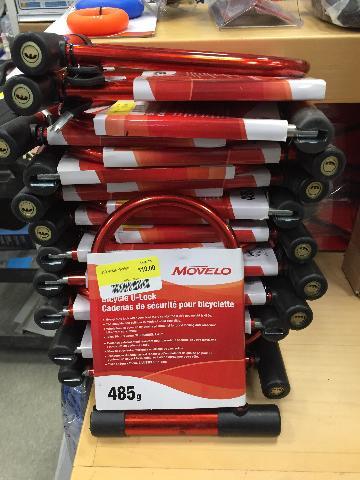 Movelo Bike U-Lock Heavy Duty