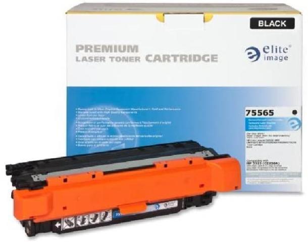 Elite Image ELI75565 Compatible Toner Replaces HP CE250A (504A), Black