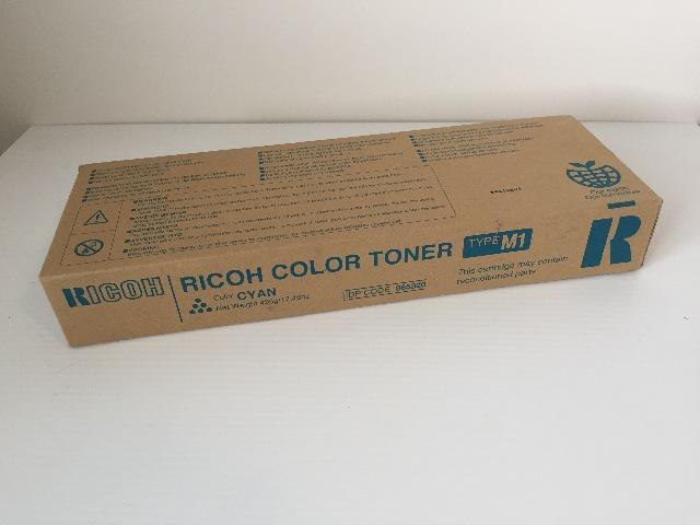 RICOH COLOR (CYAN) TONER - Type M1 (885320)