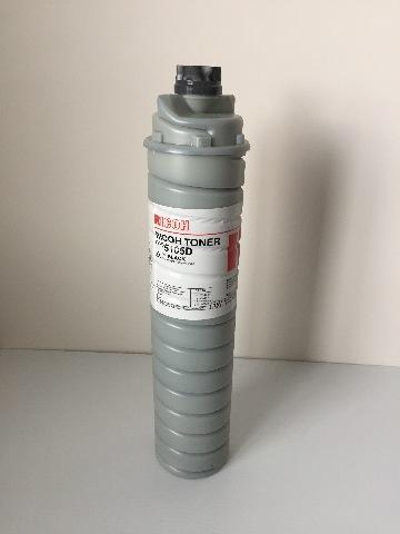 New Genuine Ricoh 885235 Black Toner Cartridge Type 5105D Net Weight 1220g/43oz