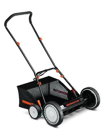 Remington 15a-3100783 Mulch & Rear Bag Reel Lawn Mower, Black