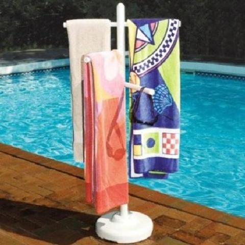 Hydro Tools 89032 Poolside Towel Rack