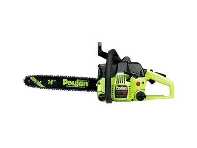 """Poulan P3314, 14 In. 33cc 2-cycle Gas Chainsaw (14"""")"""