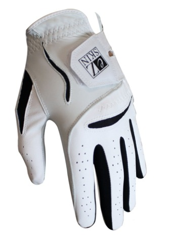 Ez Skin Medium-Large Men's Left Hand Glove White 5