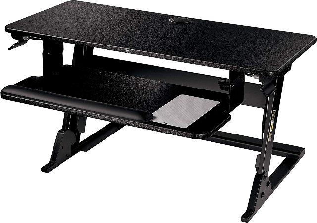 3M Precision Standing Desk SD60B Black
