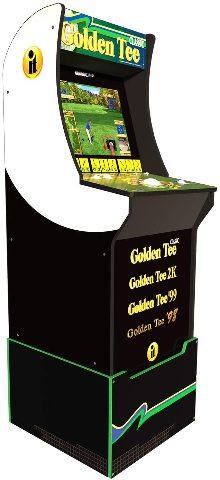 Arcade 1Up Golden Tee Classic Arcade with Riser, 5ft - BNIB