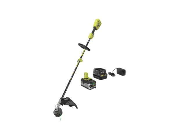 RYOBI ONE  18-Volt Lithium-Ion Cordless  String Trimmer Battery-Charger Included