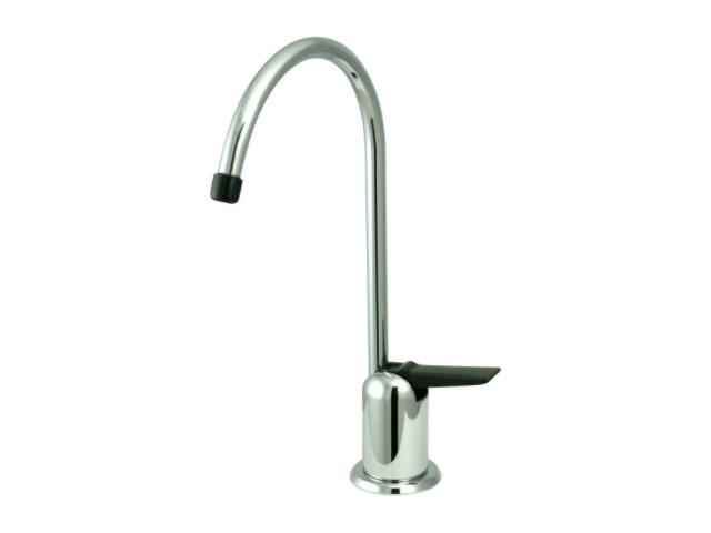 One Handle Single Hole Cold Water Dispenser Faucet Finish: Chrome - EK6191
